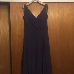 Plum Long Dress